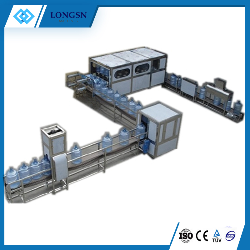 Automatic 5 gallon filling line/bottling machine
