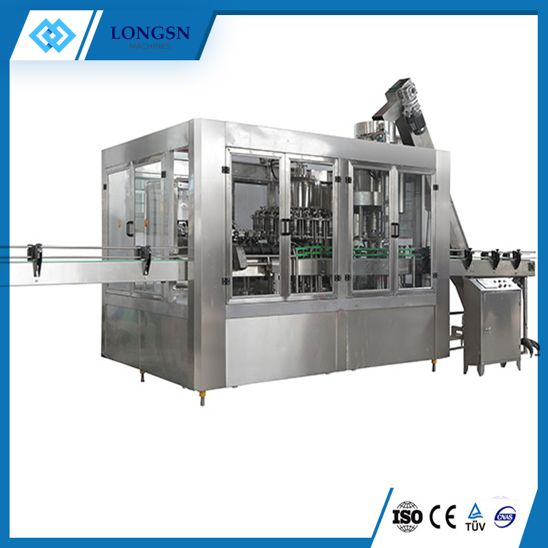 Automatic juice filling bottling machine