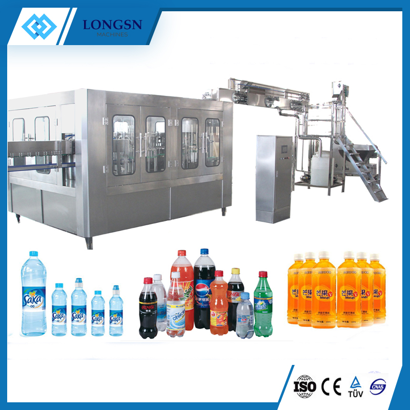 Automatic carbonated filing machine