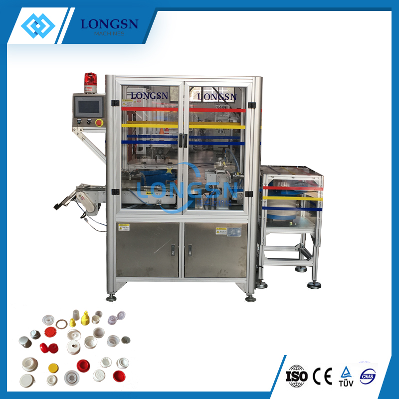 Automatic cap assembly machine